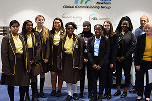 Youngsters present mental health ideas to NHS in Newham